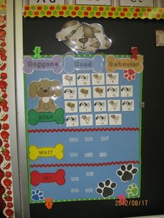 A twist on the traffic light system for classroom management using a puppy theme. Directions for how to create it yourself are given here as well as a link to the product if you would like all components ready to use! $