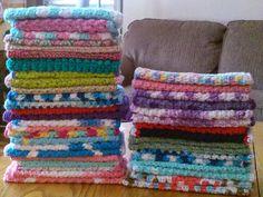 CROCHET DISHCLOTHS — From: http://mykeeponkeeping on.blogspot.com/2014/07/crochet-dishcloths-and-pattern.html