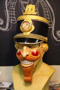 Nutcracker/Munchausen Mask. $175.00, via Etsy.