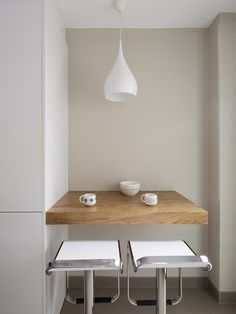 Sant Joan Despí 4 New Kitchen, Kitchen Decor, Kitchen Design, Small Kitchen Solutions, One Bedroom Apartment, Kitchen Styling, Dining Room Table, Home Renovation, Furniture Design