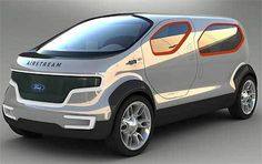 Image via We Heart It https://weheartit.com/entry/162226908 #airstream #cell #concept #ford #fuel #futuristic #hybrid #crossover