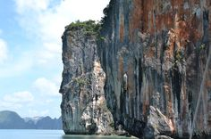 The epic limestones of Phang-Nga Bay Cliff Islands in #Phuket, #Thailand.