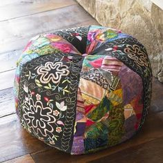 Bromeliad: DIY Wednesday: Pouf baby - the Moroccan pouf revisited - DIY style, frugal home design, budget travel