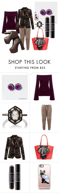 """""""Untitled #5432"""" by pampire ❤ liked on Polyvore featuring Finders Keepers, Cathy Waterman, Brunello Cucinelli, Roberto Cavalli, DKNY, Christian Dior, Casetify and Jeffrey Campbell"""
