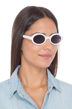 d62d209c7dbbb Óculos Berlim Total By Helena Bordon - Branco - Oculos Adulto Berlim Branco Lente  Preta Total