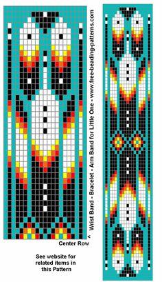 native bead loom patterns - Google Search