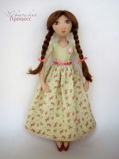 Мои любимые игрушки. Авторские текстильные куклы Анны Балябиной: СП. Финал