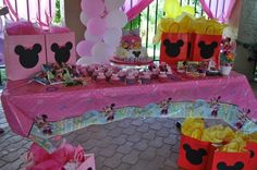 "minnie mouse party ideas for 2nd birthday | ... 24: Minnie Mouse / Birthday ""Ashley's 2nd Birthday!"" 