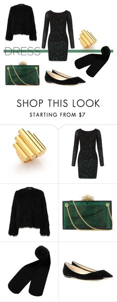 """""""Be Part of the Party"""" by lamemechose ❤ liked on Polyvore featuring Maiyet, Aidan Mattox, Samsøe & Samsøe, Charlotte Olympia, Monki and Jimmy Choo"""