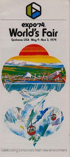 Expo '74 World's Fair - Spokane, Washington