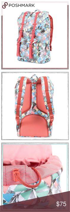 ☄✨Herschel Little America Backpack✨☄ ✨Herschel Supply Little America Backpack✨Fully Lined With Laptop Pocket✨Color is Remix Flamingo✨NEW✨ Herschel Supply Company Bags Backpacks