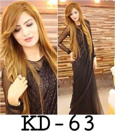 partywear bollywood sareee net fabric embroidered with cotton and net blouse Pakistani Dress Design, Pakistani Bridal, Pakistani Dresses, Indian Sarees, Black Saree Designs, Saree Blouse Designs, Sari Design, Beautiful Saree, Beautiful Dresses