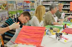 Workshops: Painting on canvas Finding Yourself, Workshop, Canvas, Creative, Painting, Wedges, Canvas Frame, Hobbies, Tela