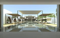 WOW Architects. BAKER FARMHOUSE  DUBAI, UAE PRIVATE RESIDENCE 1500 M² ARCHITECTURE 2009-2012
