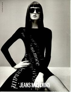 Moschino by Rossella Jardini Jeans Campaign, photographed by  Ruven Afanador, Fall/Winter 1997