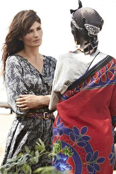 SUPERMODEL Helena Christensen has just completed her third trip with international humanitarian organisation Oxfam. Here, she reports for VOGUE.COM from East Africa where she met two women - both mothers like her - whose lives have changed in recent years due to climate change.