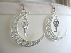 Sailor Moon earrings  Moon Princess Earrings  by GlitzCouture