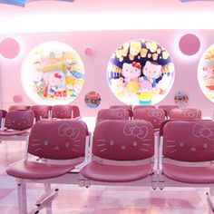 Hello Kitty hospital waiting room