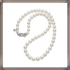 Mikimoto Core Akoya Pearl Strand Necklace and Studs