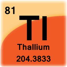 Thallium atomic 81 thallium pinterest element cell for thallium urtaz Choice Image