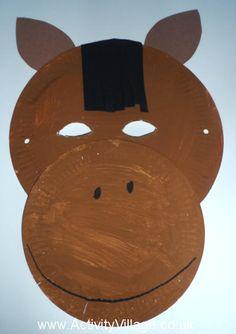 Horse Mask Craft