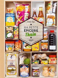 Des conseils pour trouver et choisir les produits emblématiques de la cuisine thaïe … Une collection très visuelle qui montre tous les ingrédients et les étapes de la fabrication
