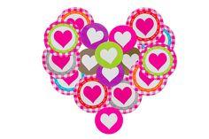 Verrassende Valentijn! Stickers hart