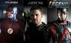 The Flash - Arrow - DC's Legends of Tomorrow