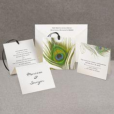 Love the z-fold invitation...unique and classy.