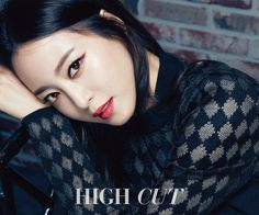 Han Ye Seul looks gorgeous with fierce red makeup for 'High Cut'
