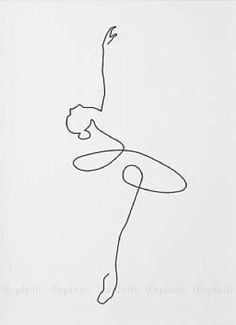 "Line Drawing For ""Famous"" Album Cover - Made by Studio Antheia. Pencil Art Drawings, Art Drawings Sketches, Easy Drawings, Dancing Drawings, Flower Sketches, Abstract Drawings, Tattoo Drawings, Art Abstrait Ligne, Minimal Art"