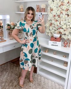 New Look Dresses, Summer Dresses, Casual Frocks, Stylish Tops, Complete Outfits, Modest Outfits, Types Of Fashion Styles, Skater Dress, Dress Collection
