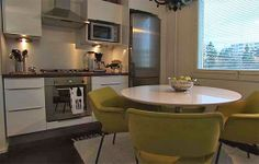 Kitchen, featuring one of my favourite chairs (Kilta).