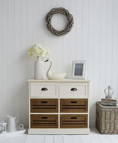 Affordable Furniture And Home Decor Bringing Together Coastal New - Country cottage console table