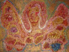 Bilder direkt vom Künstler - bilder64.ch Surreal Art, Surrealism, Abstract Art, Orange, Red, Painting, Painting Art, Surreal Artwork, Paintings