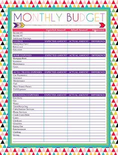 FREE Printable Budget Binder – Download or Print | Budjettikansio ...