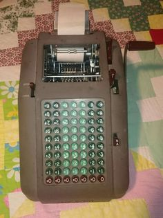 Check out my mobile marketplace on the #5milesapp! - I'm selling a Smith Corona Vintage Adding Machine for $45.00.