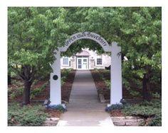 Upper Iowa University The Kissing Arch