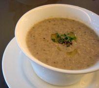 Longwood Garden's mushroom soup recipe
