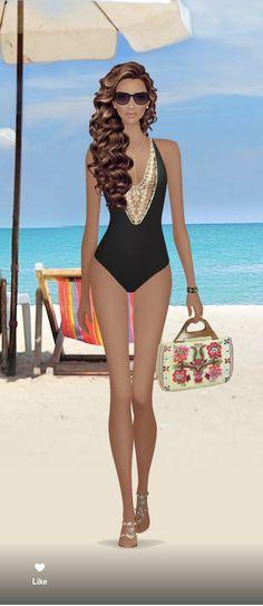 Fashion Dolls, Girl Fashion, Womens Fashion, Covet Fashion, Wetsuit, Bikinis, Swimwear, One Piece, Style Inspiration