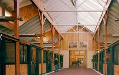 "NATURAL VENTILATION IS BEST PRACTICE Fortunately, designing your horse barn for good air exchange doesn't necessarily require the use of high-cost equipment or complicated mechanical training. With the right design know-how and a working sense of barn construction techniques, engineering an air flow system that reduces risk and cost is a relatively straightforward process. It's called Natural Ventilation, & the core principle isn't altogether complex, remember ""Heat Rises"" horse-barns.com"