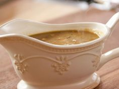 """Gussied Up Gravy (Thanksgiving Shortcuts) - """"The Pioneer Woman"""", Ree Drummond on the Food Network. Best Thanksgiving Recipes, Holiday Recipes, Thanksgiving Turkey, Holiday Drinks, Holiday Foods, Party Drinks, Easter Recipes, Holiday Treats, Christmas Recipes"""