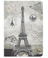 Vintage Tower Pattern Leather Case for ipad mini bag cover
