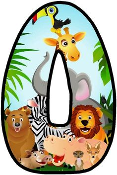 Jungle Party, Deco Jungle, Safari Theme Birthday, First Birthday Party Themes, Alphabet, Safari Party Decorations, Jungle Theme Classroom, Classroom Themes, Alfabeto Animal
