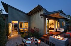 | Harmon Residence | A completely restored cottage in Healdsburg, California.   ~ click on photo for more ~