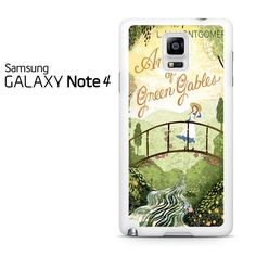 Anne Of Green Gables Vintage Classics Samsung Galaxy Note 4 Case