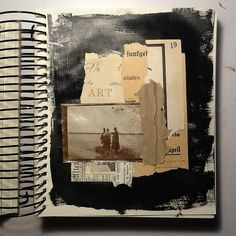 The Journal Diaries- Tina's Collage Journals / Seaweed Kisses