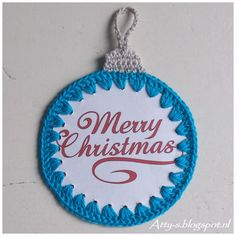 Crochet Christmas Cards https://www.facebook.com/AttysLoveForCrochet