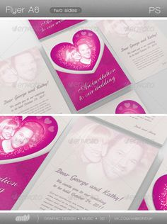 Wedding Invitation — Photoshop PSD #stylish #beige • Available here → https://graphicriver.net/item/wedding-invitation/524461?ref=pxcr
