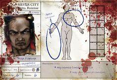 Ficha de personaje Max, físicamente superior al resto de supervivientes.